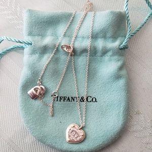Tiffany & Co Love Heart Tag Key Pendant